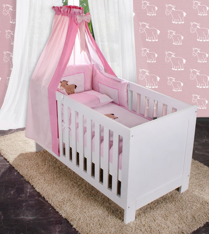 baby bettset 5 tlg sleeping bear prestij joy prinz oder prinzessin baby m bel. Black Bedroom Furniture Sets. Home Design Ideas