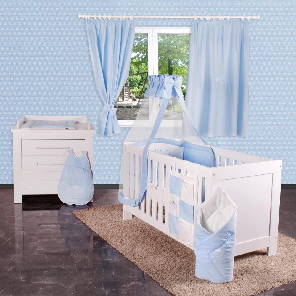 19-tlg. Luxus Babyzimmer Enni mit riesen Bettsetpaket von Kleiner ...