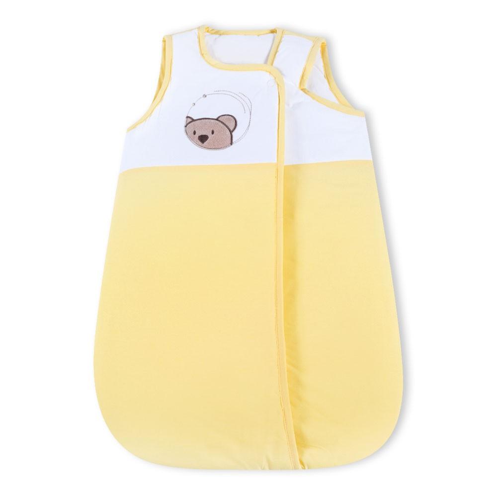 Babyschlafsack Little Bear in Gelb, 70cm