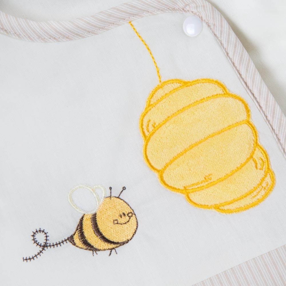 Babyschlafsack Honey Bear in Beige, 70cm – Bild 2