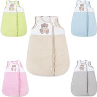 Baby Schlafsack ohne Ärmel Kinder Schlafsack Baumwolle Ganzjahres Babyschlafsack  Prestij  001