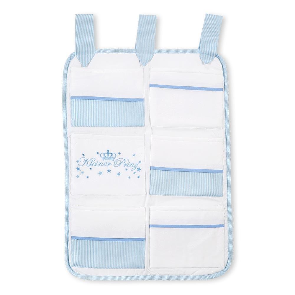 Babybetttasche von Kleiner Prinz oder Kleine Prinzessin in Blau, Rosa oder Cream – Bild 3