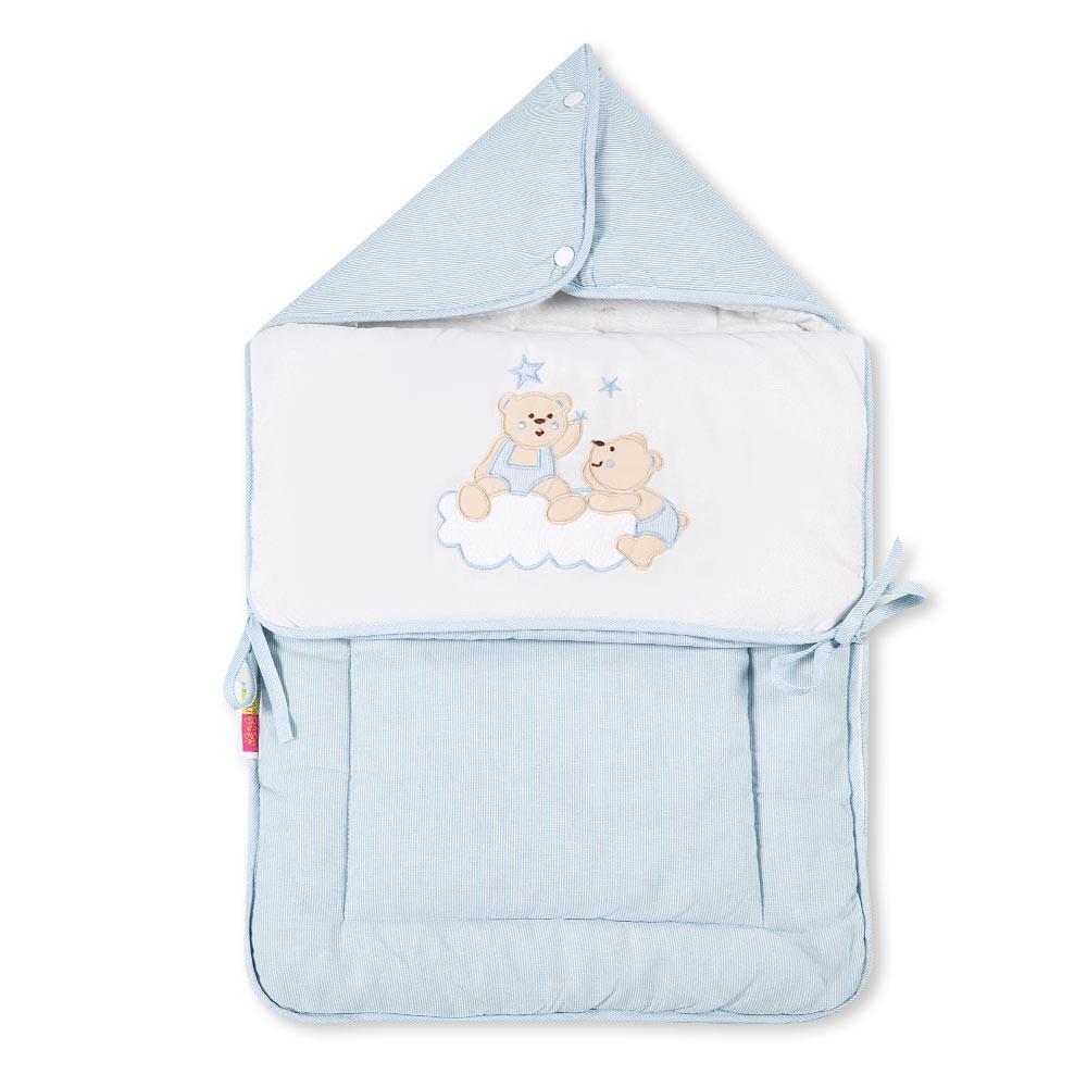 Baby Fußsack Multisack Einlegedecke 100% Baumwollein 39 verschieden Motiven – Bild 13