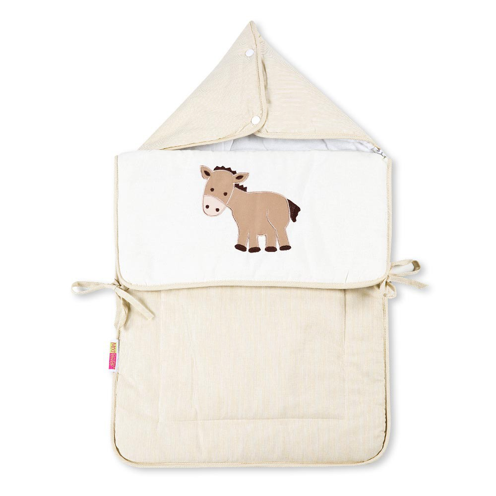 Baby Fußsack Multisack Einlegedecke 100% Baumwollein 39 verschieden Motiven – Bild 9