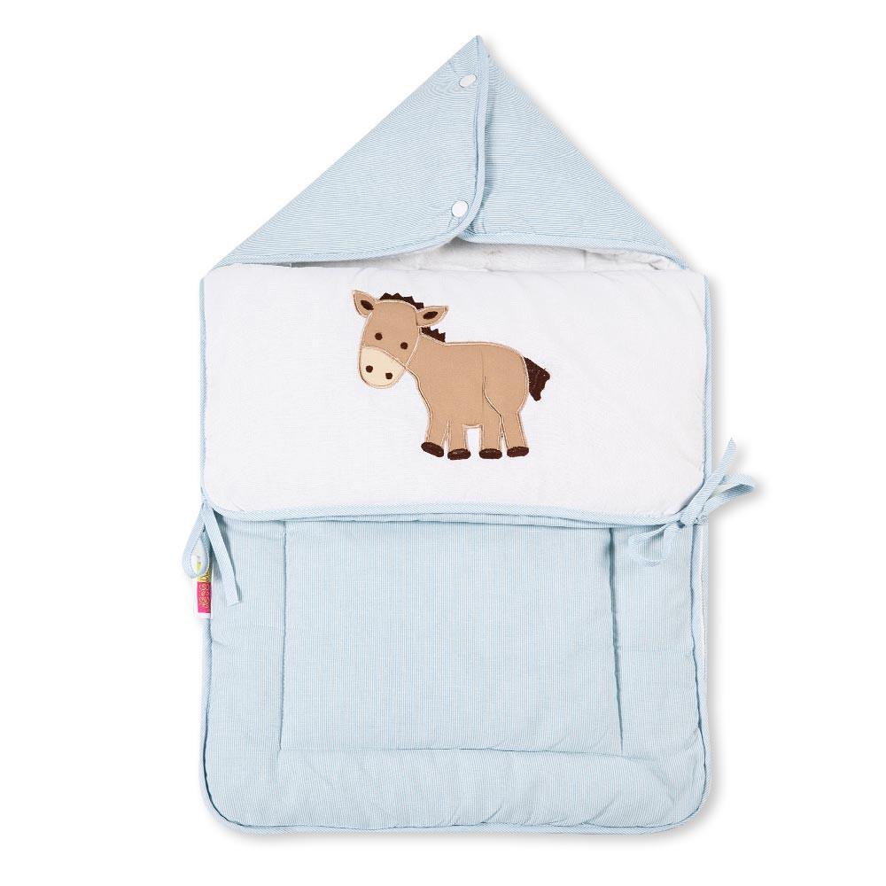 Baby Fußsack Multisack Einlegedecke 100% Baumwollein 39 verschieden Motiven – Bild 10