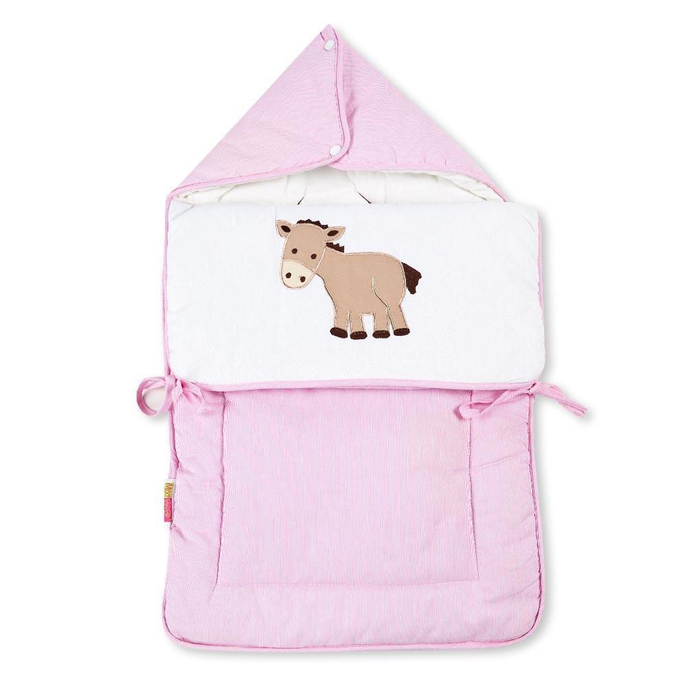 Baby Fußsack Multisack Einlegedecke 100% Baumwollein 39 verschieden Motiven – Bild 11