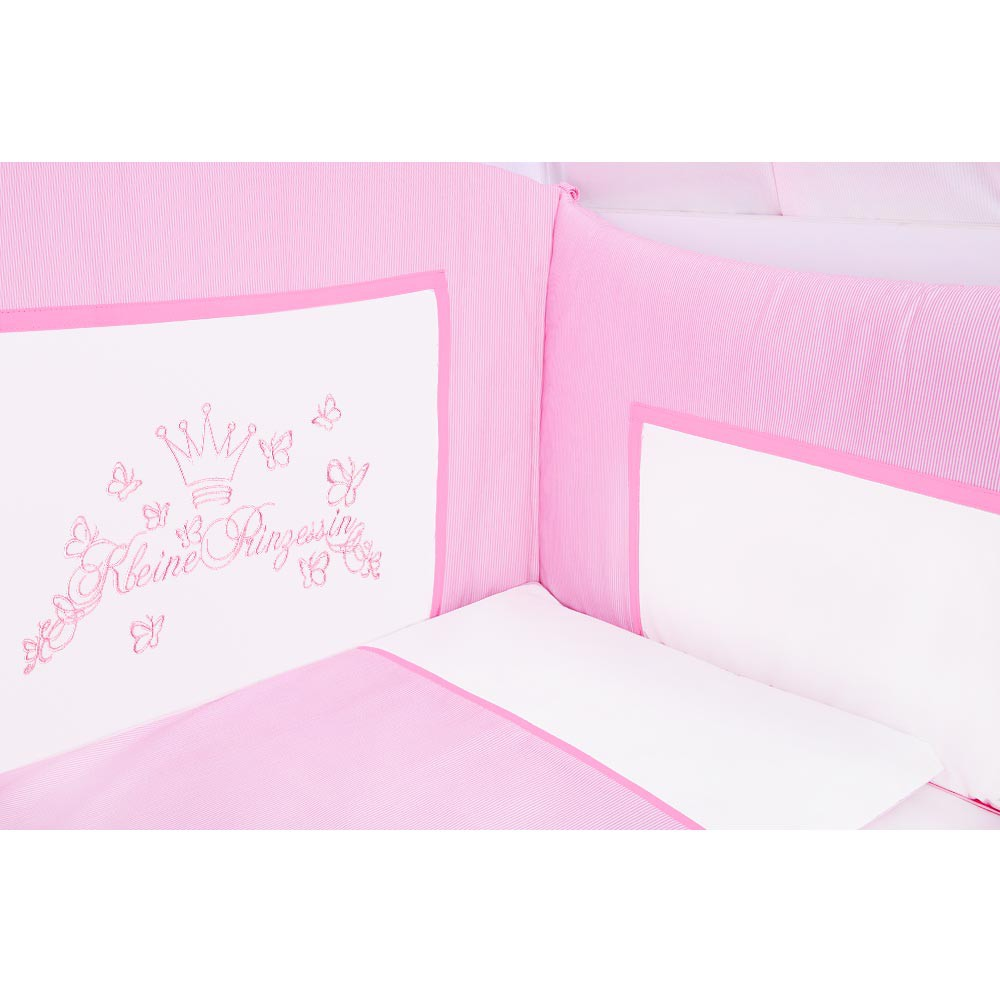 Babyzimmer Yves 19-tlg. mit 2 türigem Schrank + gr. Bett ...