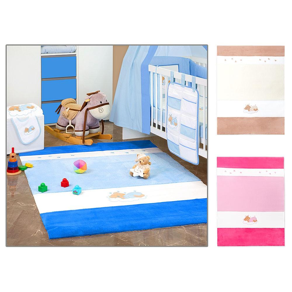 Babyzimmer Teppich / Kinderzimmer Teppich Wellsoft Baby Spielteppich in 2 Größen