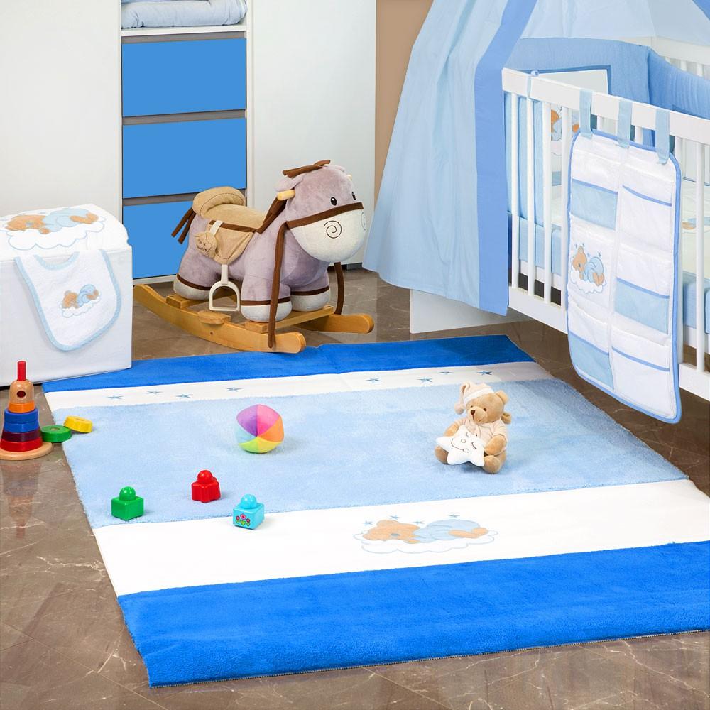 Babyzimmer Teppich / Kinderzimmer Teppich Wellsoft Baby Spielteppich in 2 Größen  – Bild 6