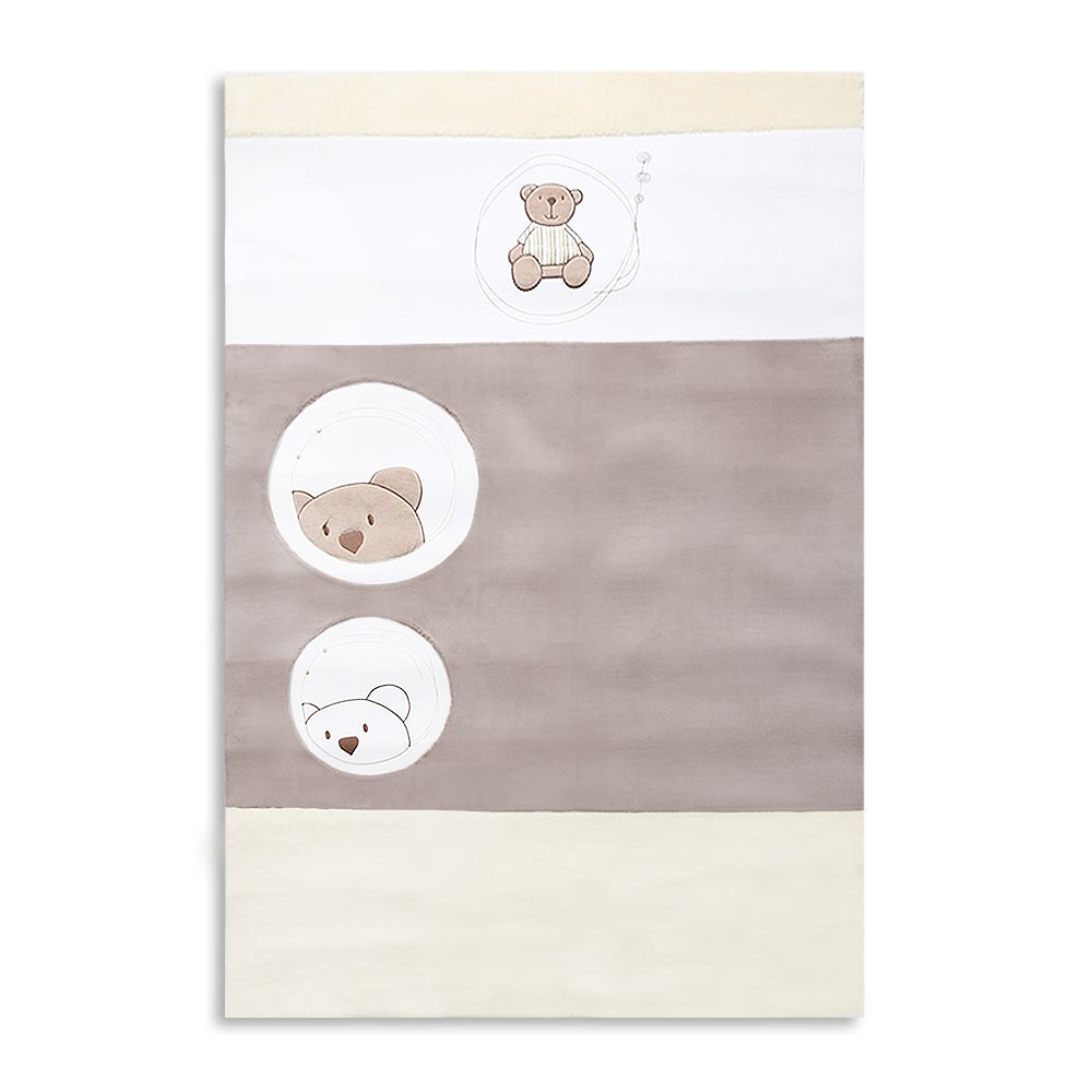 Babyzimmer Teppich Kinderzimmer Wellsoft Spielteppich Little Bear ...