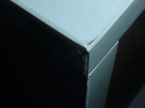 Raumteiler Mexx Bücherregal Regal 8 Fächer Hochglanz Weiss Schwarz Rot B-Ware – Bild 15