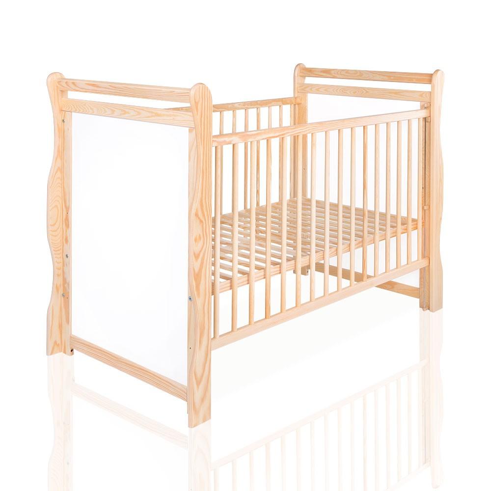 Baby- und Kinderbett Jas in Kiefer 120 x 60 cm