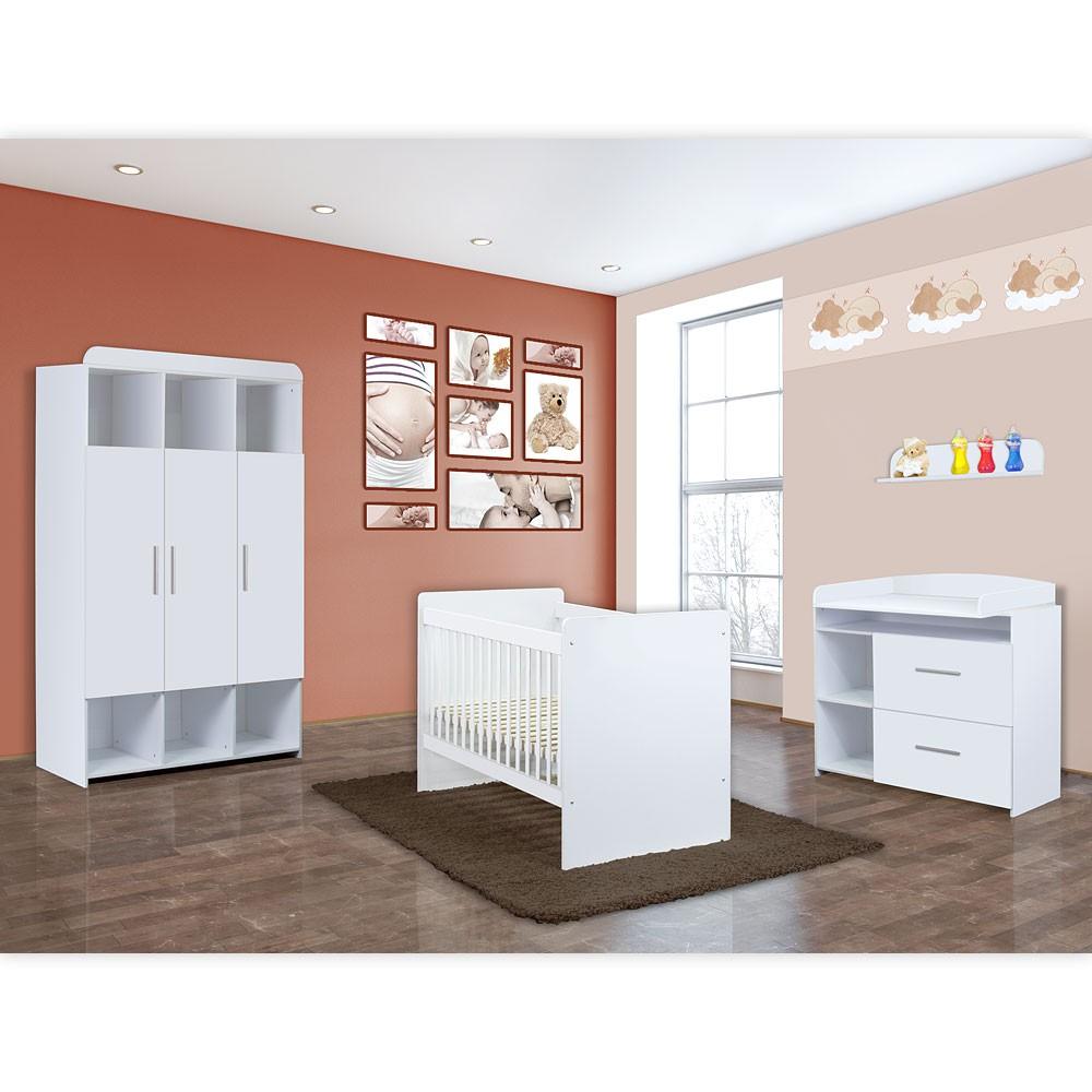 Babyzimmer Mexx 5 Tlg In Der Farbe Weiss Mit 3 Turigem