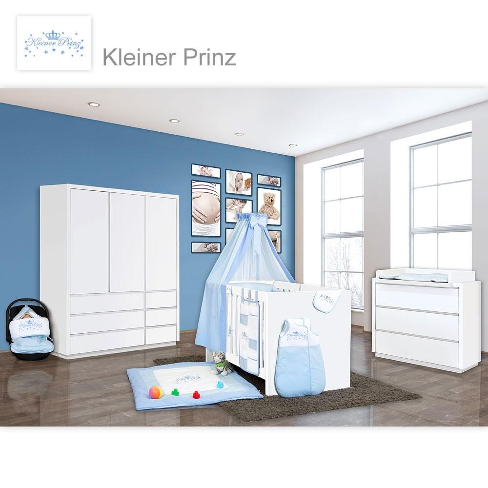 Babyzimmer Atlanta In Weiss 10 Tlg Mit 3 Turigem Kl Kleiner