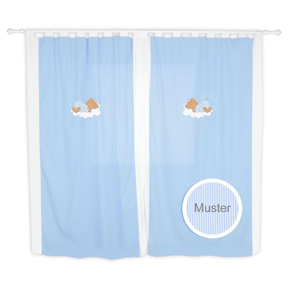 Babyzimmer Kinderzimmer Gardinen Vorhänge mit Schlaufen 5 Farben – Bild 3