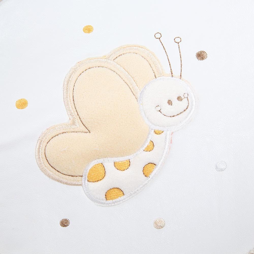 Babyzimmer Teppich Kinderzimmer Wellsoft Spielteppich Butterfly, kleinen Schmetterlinge 120 x 170cm – Bild 2