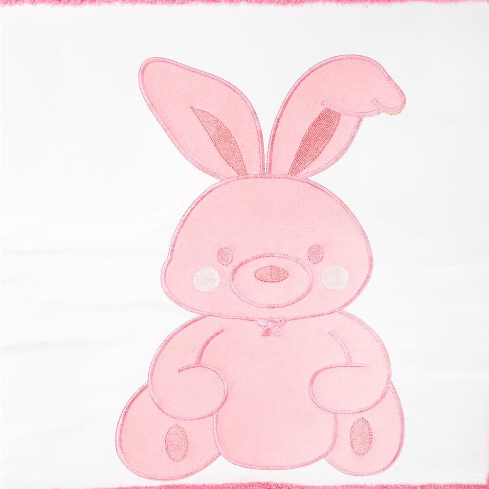 Babyzimmer Teppich Kinderzimmer Wellsoft Spielteppich Pink Bunny ...