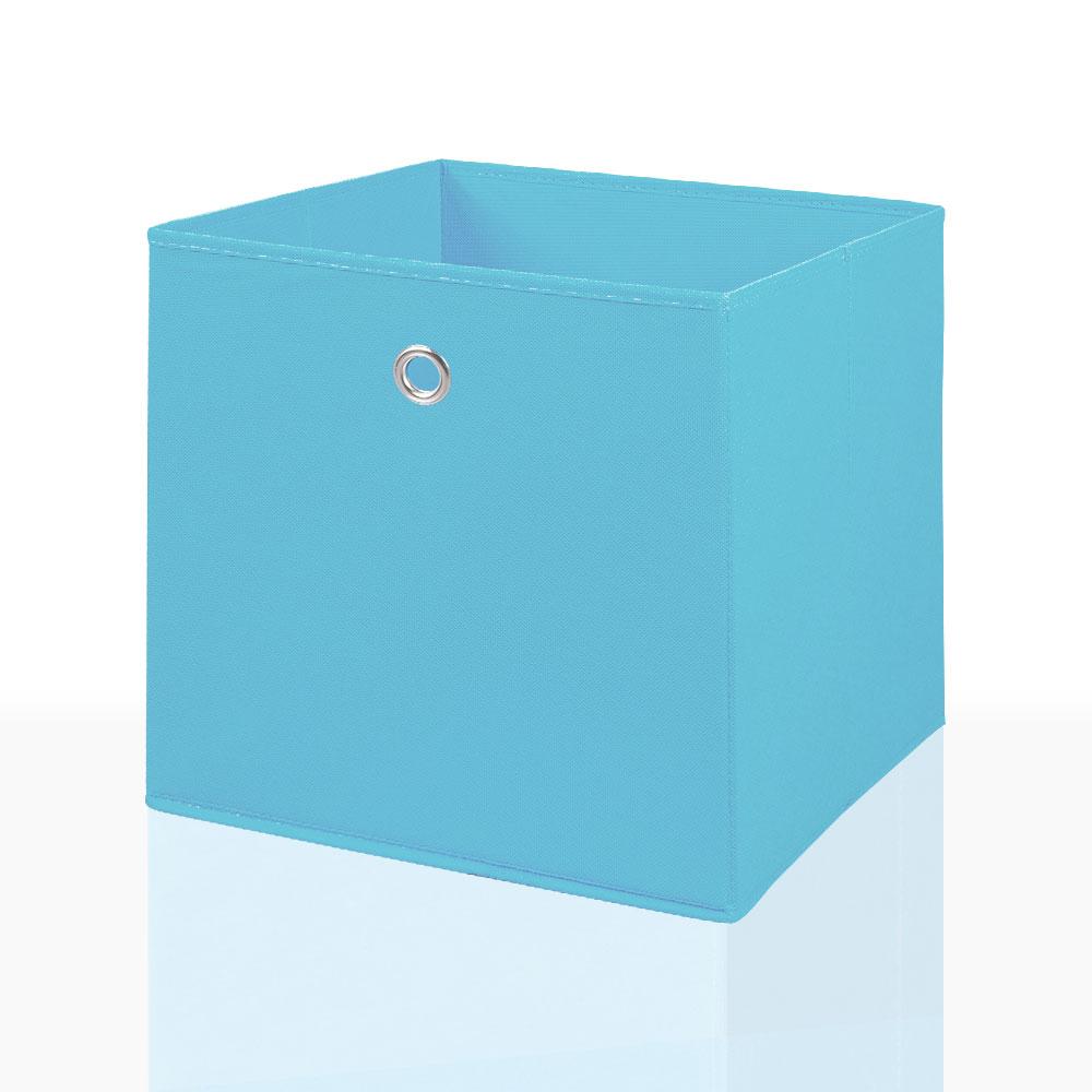 2er Set Faltbox in Grün 34 x 34 cm Faltkiste Regalkorb Regalbox Kinderbox
