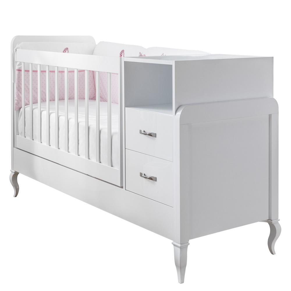 mitwachsendes babyzimmer snowy mit kommode kleiderschrank. Black Bedroom Furniture Sets. Home Design Ideas