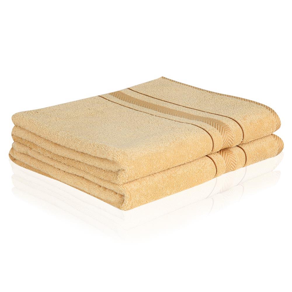 2 er SET HANDTÜCHER Handtuch 50x100cm und Duschtuch 70x140cm 500g/m² 100% BAUMWOLLE in verschiedenen Farben zur Auswahl NEU – Bild 2