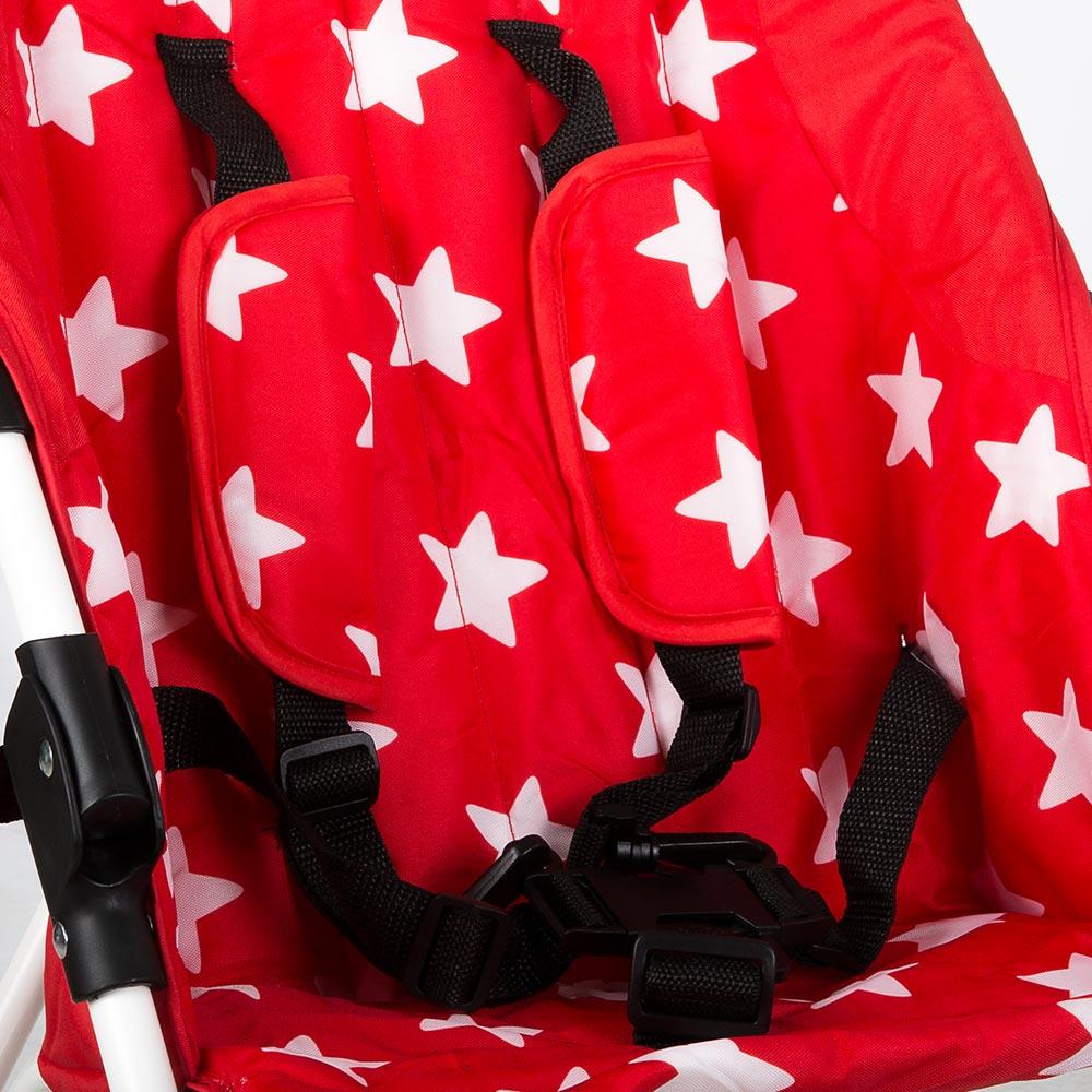 Buggy klappbar Reisebuggy Kinderwagen Leichtgewicht Star mit Sternmotiv – Bild 13