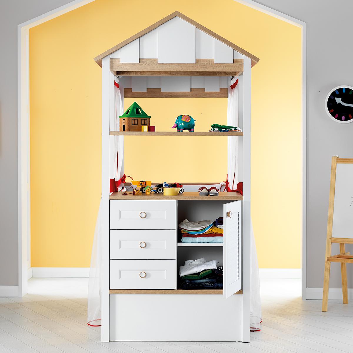 Kinderzimmer Jugendzimmer Komplettset mit Wiege und Textilset – Bild 9