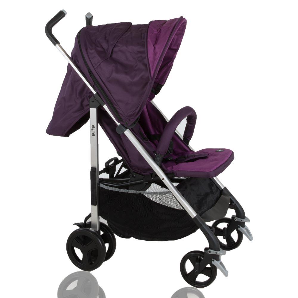 Buggy klappbar Reisebuggy Kinderwagen Leichtgewicht Sonnendach Baby2go Elite  – Bild 6