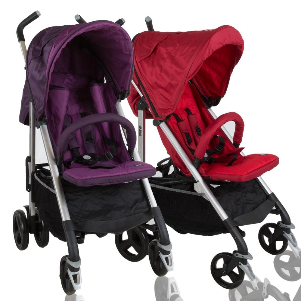 Buggy klappbar Reisebuggy Kinderwagen Leichtgewicht Sonnendach Baby2go Elite