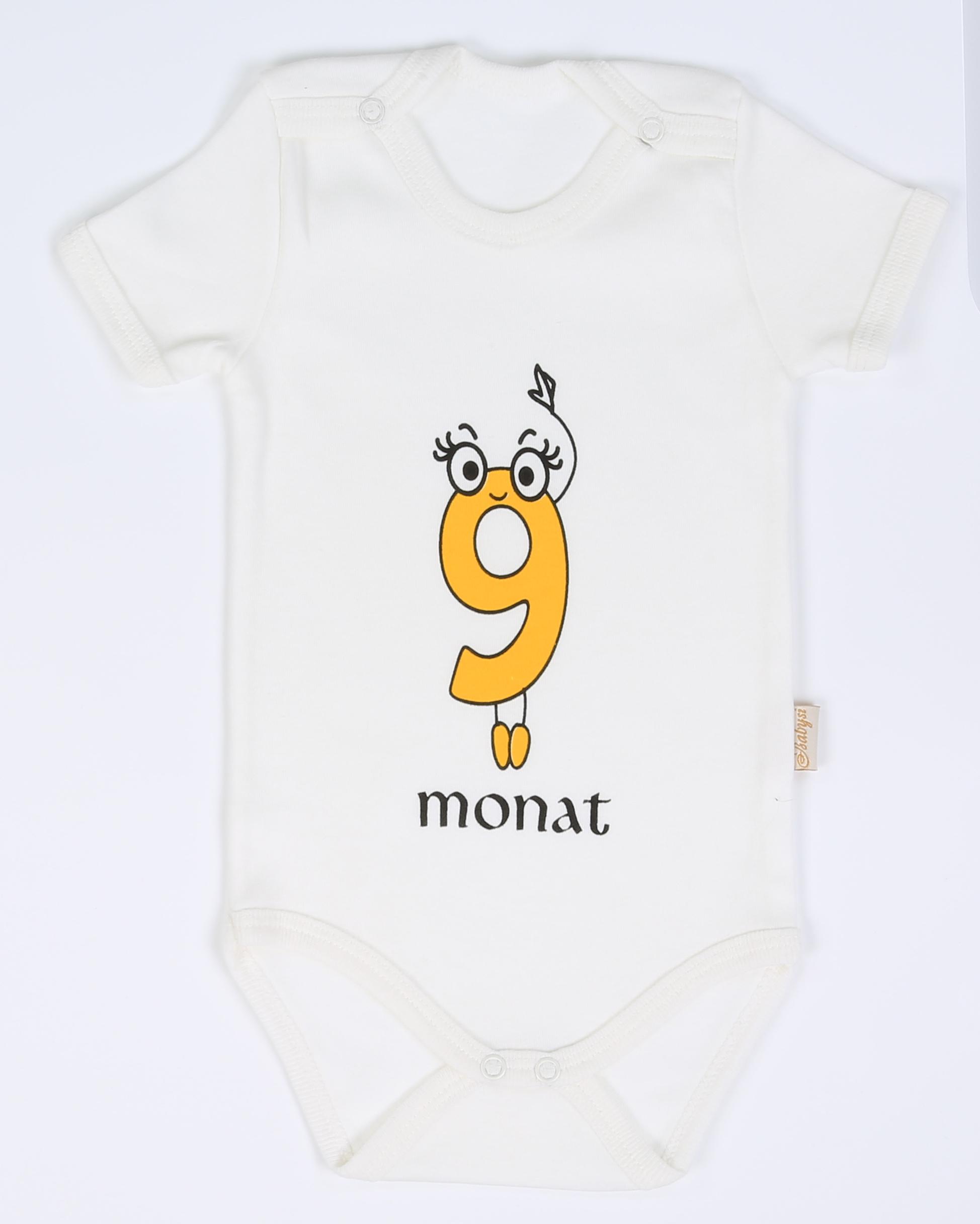 Neugeborenes Baby Mädchen Jungen Body Geschenk Set 12 teil Kurzarm Erstlingsset – Bild 15