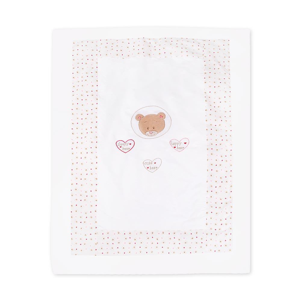 Babybettset Schlafsack Fußsack Krabbeldecke Bett-Tasche Lätzchen Wickelauflage  – Bild 17