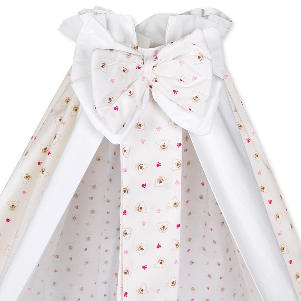 Babybettset Schlafsack Fußsack Krabbeldecke Bett-Tasche Lätzchen Wickelauflage  – Bild 2