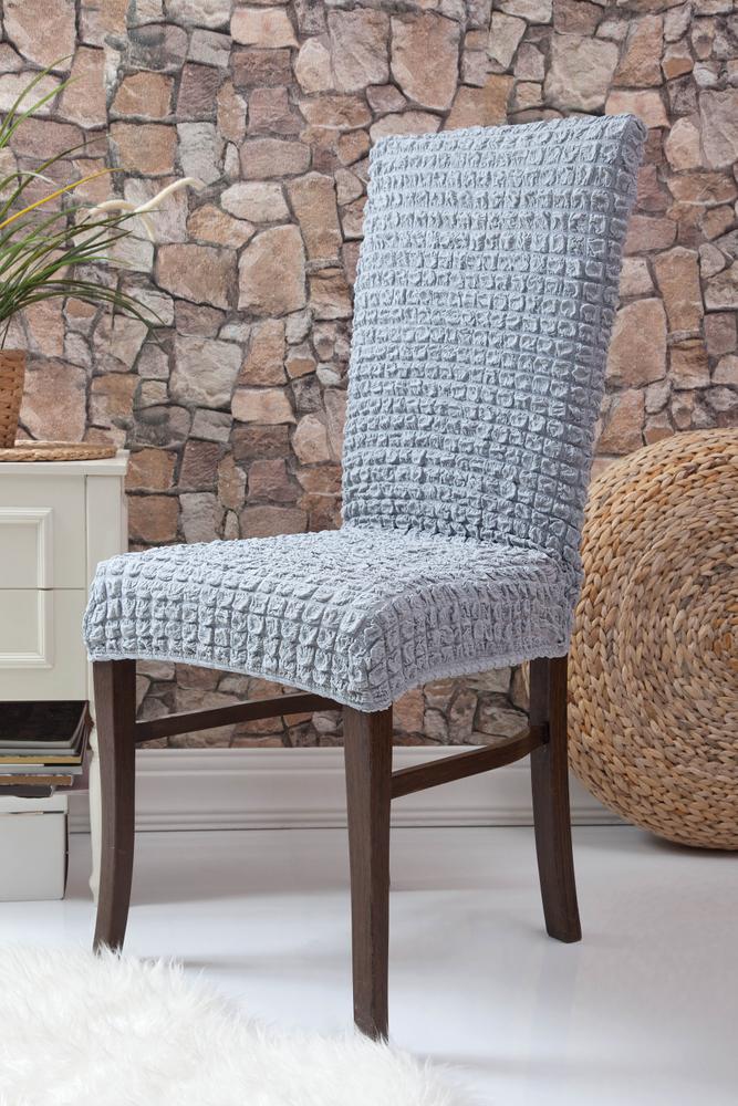 Fiora Stretch Stuhlhusse Stuhlbezug Elastische Husse Dekoration Stuhl Husse aus Elastik-Stoff für universelle Passform – Bild 17