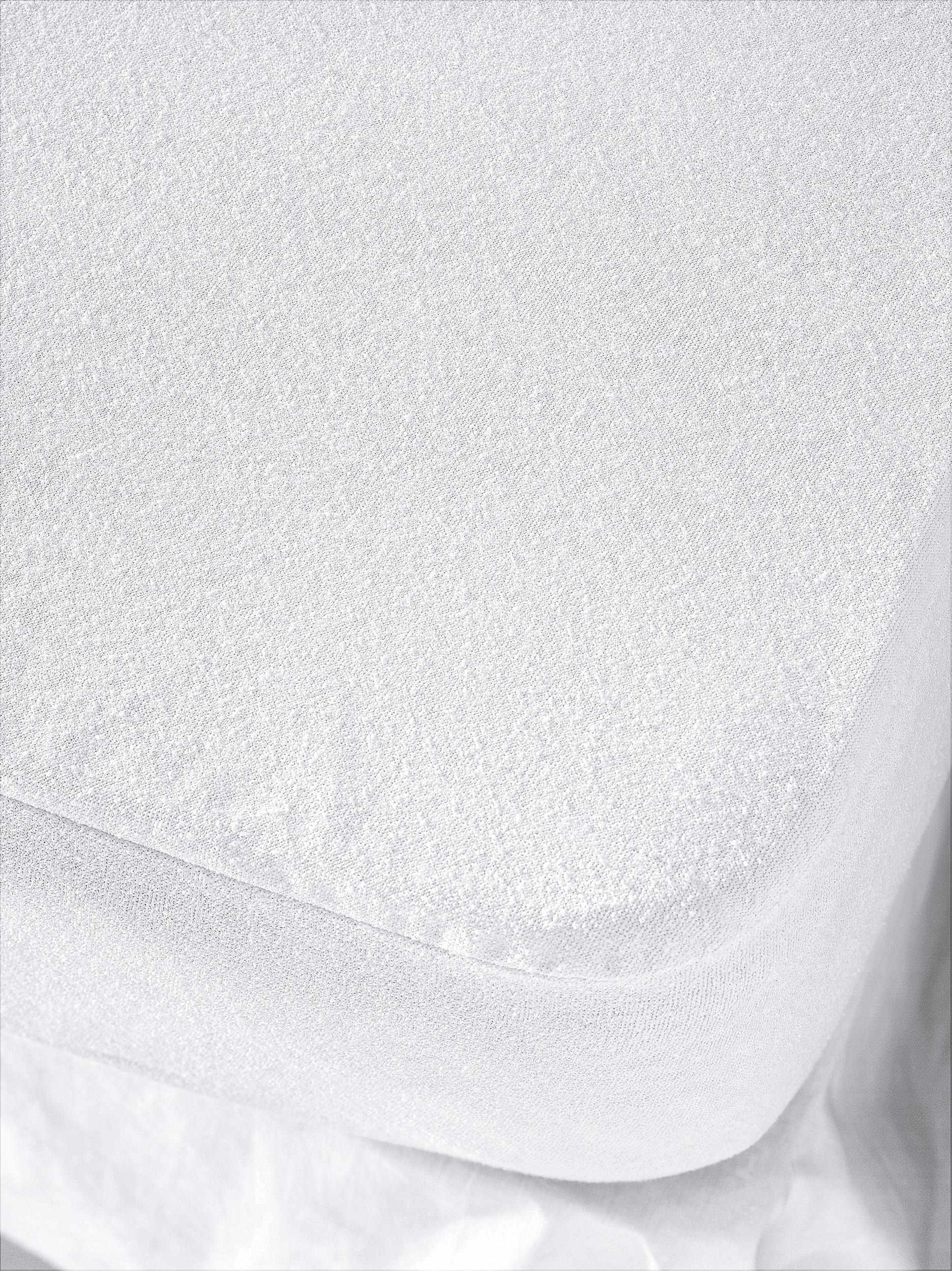 Matratzenschoner Matratzenschutz Spannbetttuch 160 x 200 cm om 100/% Baumwolle