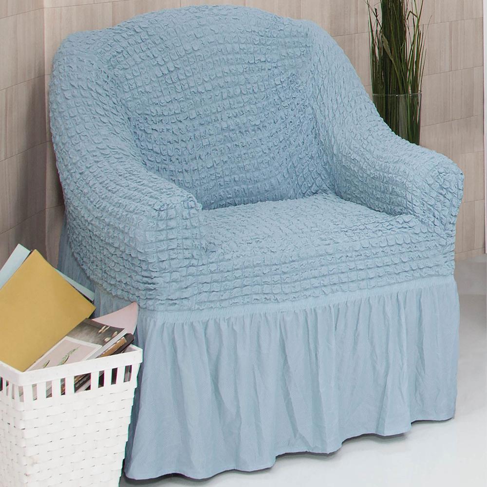Sofabezug Sofahusse Sesselbezug Sitzbezug Sesselüberwurf Stretchhusse 1 er Sofa – Bild 17
