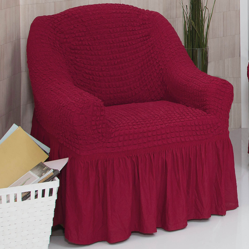 Sofabezug Sofahusse Sesselbezug Sitzbezug Sesselüberwurf Stretchhusse 1 er Sofa – Bild 24