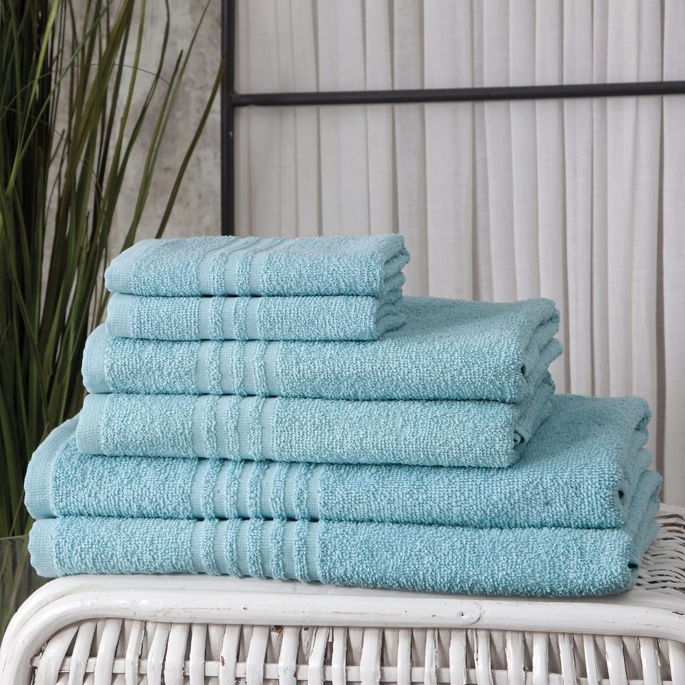 Handtuch 6er set 2x Duschtuch 2x Handtuch 2x Gästetuch 100% Baumwolle Frottee – Bild 20