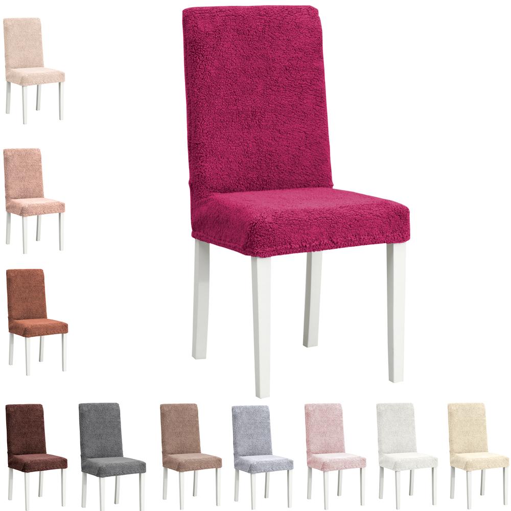 Stretch Stuhlhusse Stuhlbezug Elastische Husse Dekoration Wellsoft Premium  – Bild 13