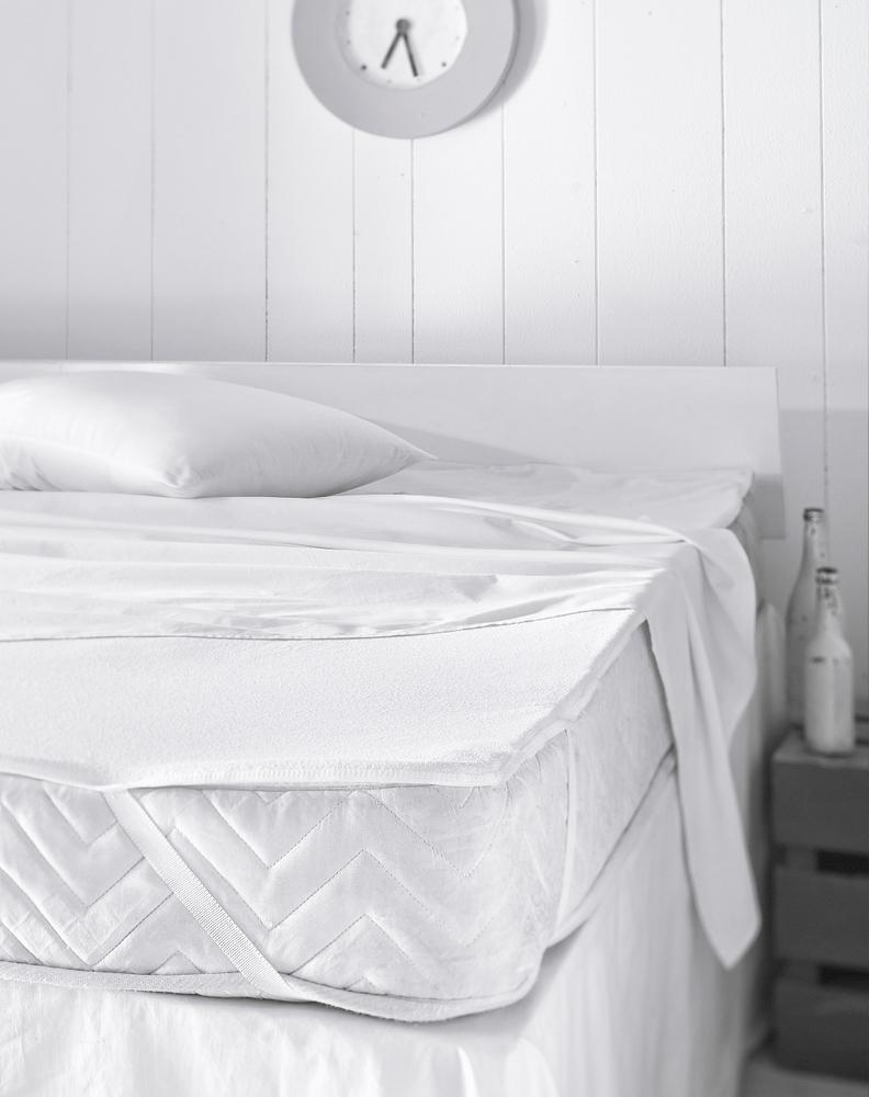 2 er Set Matratzenschoner Matratzenauflage Wasserdicht Inkontinenz Matratzenschutz Molton – Bild 4