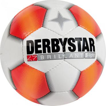 Derbystar Brillant S-Light -weiß rot-