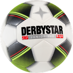 Derbystar Junior S-Light -weiß schwarz gelb rot-