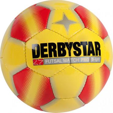 Derbystar Futsal Match Pro S-Light -gelb rot-