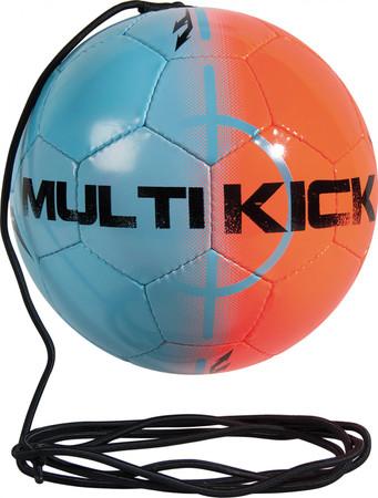 Derbystar Multikick  -blau orange- Größe 5