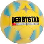 Derbystar Futsal Match Pro Light -gelb blau- Größe 4 001