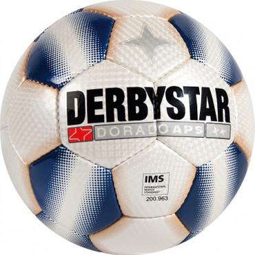 Derbystar Dorado APS -weiß blau- Größe 5