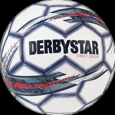 Derbystar Street Soccer -weiß rot blau- Größe 5