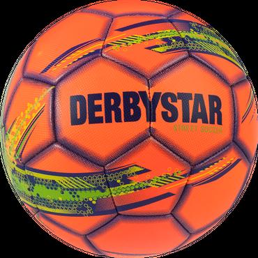 Derbystar Street Soccer -orange grün blau- Größe 5