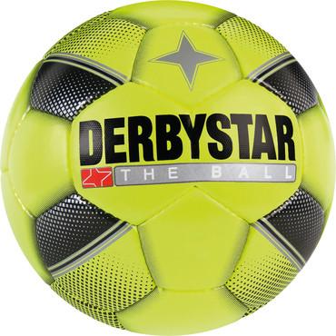 Derbystar Miniball -gelb schwarz silber- 47 cm