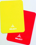 Select Schiedsrichterkarten -rot gelb- One Size 001