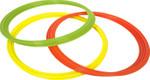 Select Koordinationsringe -gelb grün orange- (12Set) Ø 60 cm 001