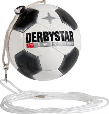 10er Paket Derbystar Swing Heavy -weiß schwarz- Größe 5